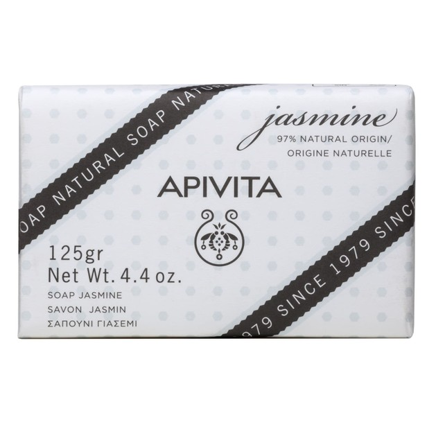 Apivita Natural Soap With Jasmine 125g