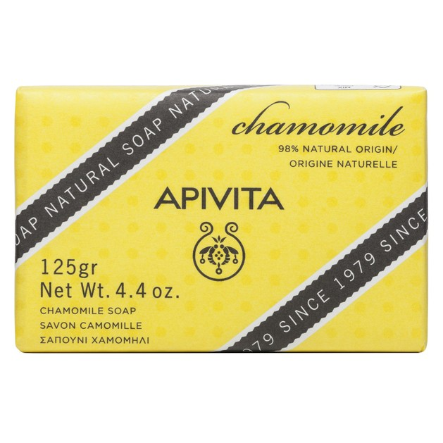 Apivita Natural Soap With Chamomile 125g