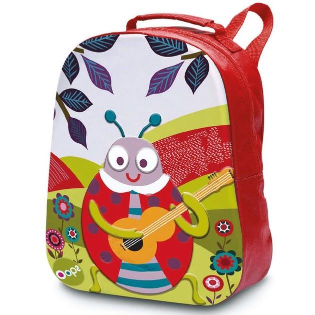 Oops Happy Backpack Ladybug Σακίδιο Πλάτης Πασχαλίτσα