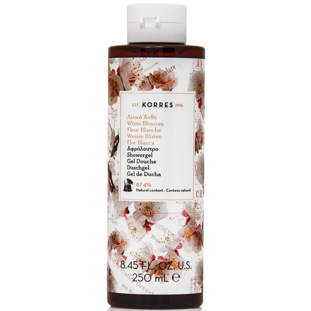 Korres Showergel White Blossom 250ml