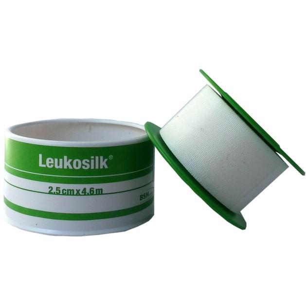 BSN Medical Leukosilk Αυτοκόλλητη Υποαλλεργική Επιδεσμική Ταινία  2.50cm x 4.6m