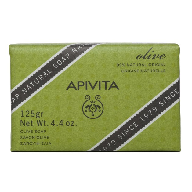 Apivita Natural Soap With Olive 125g