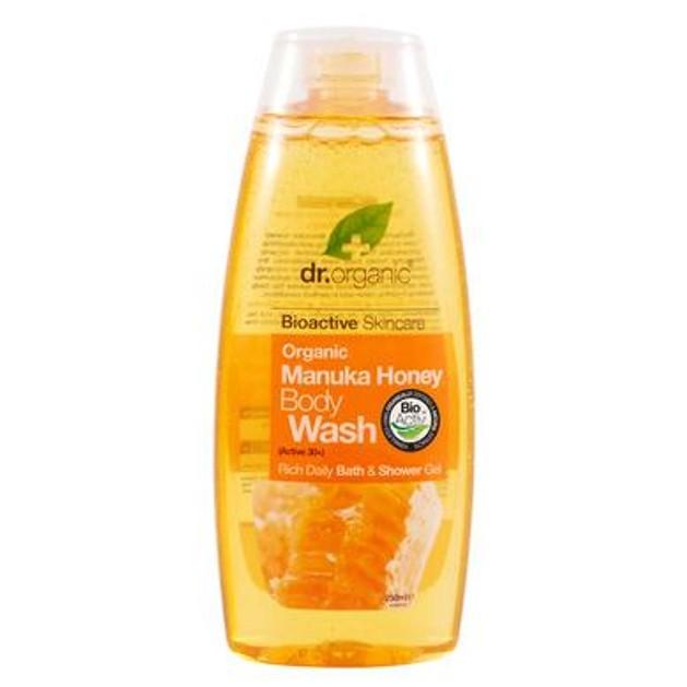 Dr.Organic Organic Manuka Honey Body Wash 250ml