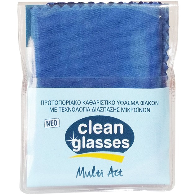 32a46cace7 Vican Clean Glasses Multi Act Ύφασμα 1τμχ