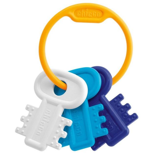 Chicco Χρωματιστά Κλειδιά Μπλε 3-18 Μηνών