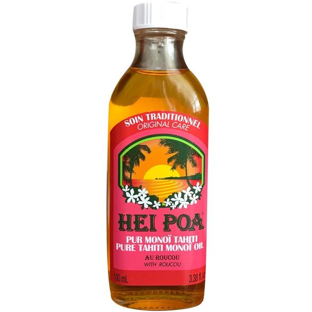 Hei Poa Pure Tahiti Monoi Oil Roucou 100ml