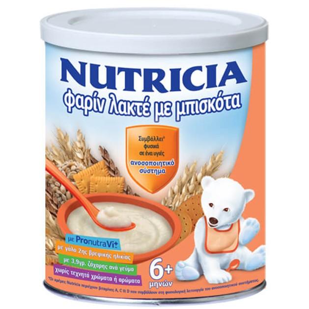 Nutricia Farine Lacte Κρέμα Από Τον 6ο Μήνα 300gr Προσφορά -0,50 €