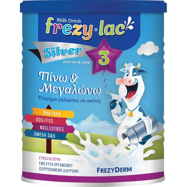 Frezyderm Frezylac Silver 3 Αγελαδινό Γάλα 3ης Ηλικίας Μετά τον 12ο Μήνα 400gr