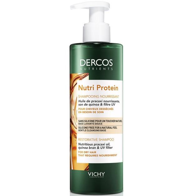 Δώρο Vichy Dercos Nutrients Nutri Protein Shampoo Θρεπτικό Αναδομητικό Σαμπουάν για Ξηρά Ταλαιπωρημένα Μαλλιά 100ml