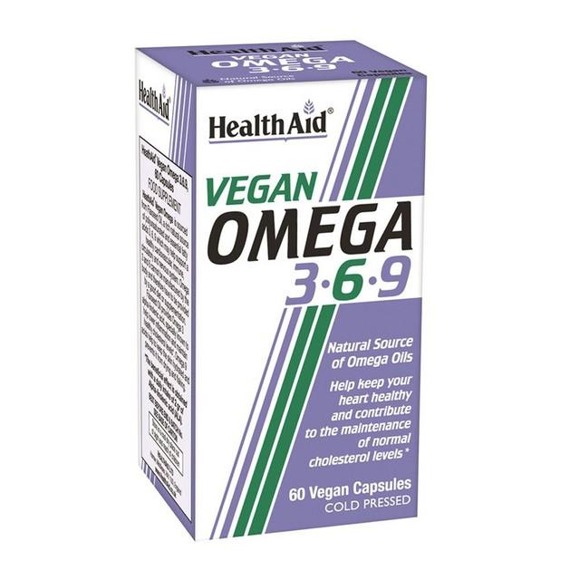 Health Aid Vegan Omega 3 6 9 60veg.caps