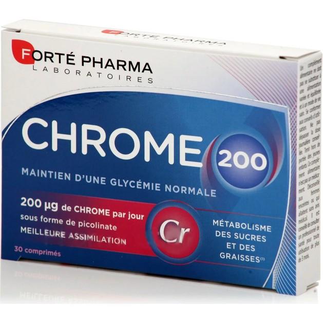 Forte Pharma Chrome 200, 30Tabs