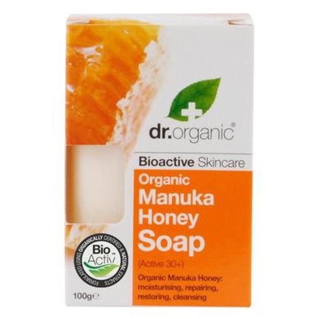 Dr Organic Organic Manuka Honey Soap Σαπούνι με Βιολογικό Μέλι Μανούκα 100gr