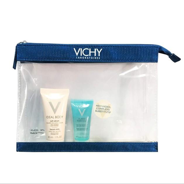 Δώρο Vichy Ideal Body Lait Serum Γαλάκτωμα - Ορός Σώματος 30ml & Purete Thermal Gel Δροσερό Gel Καθαρισμού Προσώπου 15ml