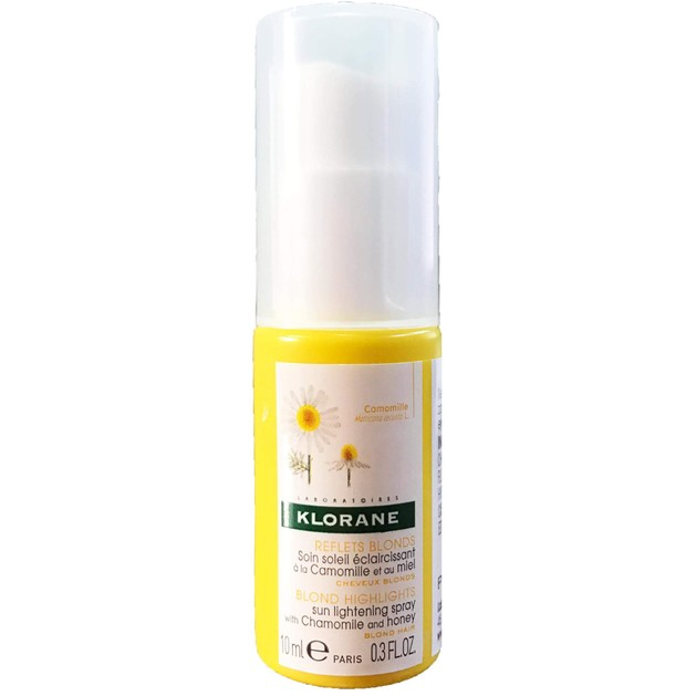 Δώρο Klorane Blond Highlights Sun Lightening Spray With Chamomille & Honey Spray Ανάδειξης της Λάμψης στα Ξανθά Μαλλιά 10ml
