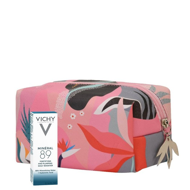 Δώρο Vichy Mineral 89 Booster Ενυδάτωσης Προσώπου 4ml & Vichy Pouch Spring Pink