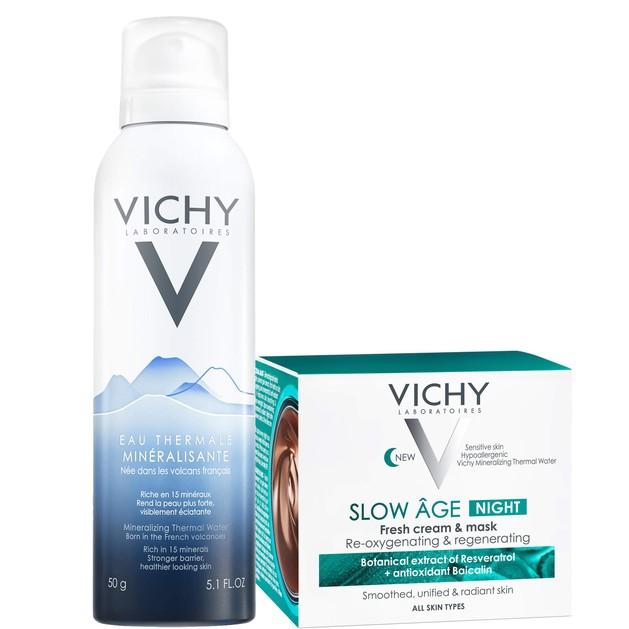Δώρο Vichy Eau Thermale Mineralisante Ιαματικό Μεταλλικό Νερό 50ml & Slow Age Night Fresh Cream & Mask Κρεμομάσκα Νύχτας 15ml