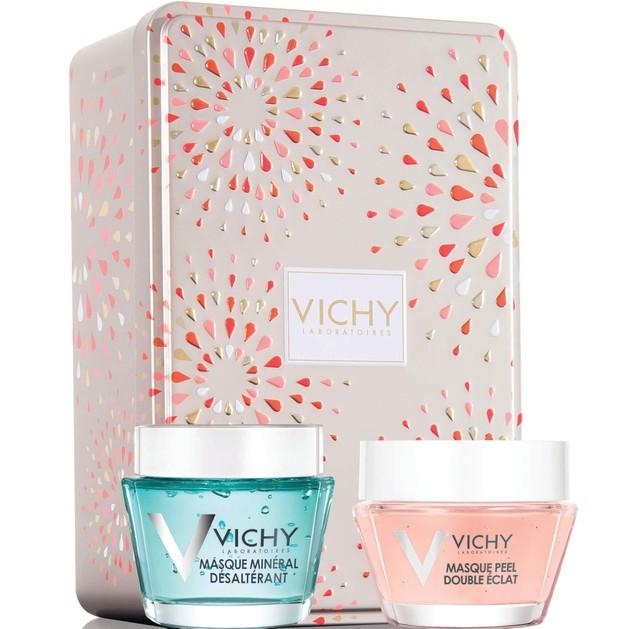 Δώρο Vichy Promo Masque Mineral Desalterant 15ml & Masque Peel Double Eclat 15ml & Συλλεκτικό Μεταλλικό Κουτί
