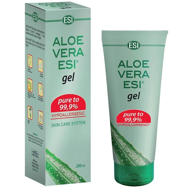 Esi Aloe Vera Gel 99,9% Χαρίζει Άμεση Ενυδάτωση και Ανάπλαση στο Ερεθισμένο Δέρμα 200ml
