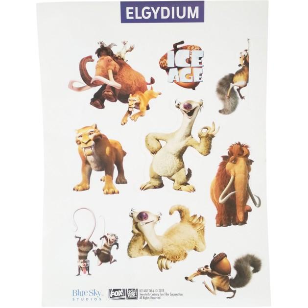 Δώρο Elgydium Ice Age Sticker Αυτοκόλλητα για τους Μικρούς μας Φίλους 1 Καρτέλα