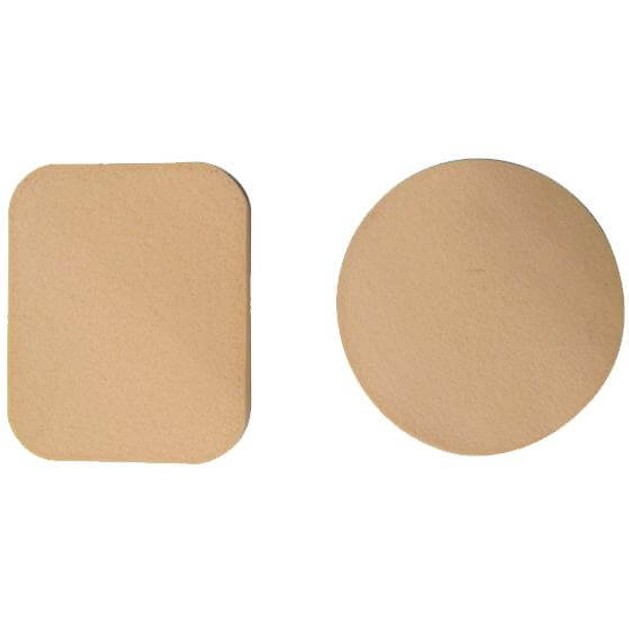 Σφουγγαράκια Μακιγιάζ / Make-up  1 Στρογγυλό & 1 Τετράγωνο Κωδ. 40301116 2τεμάχια