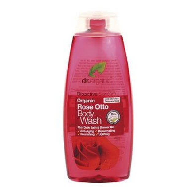 Dr.Organic Organic Rose Otto Body Wash 250ml
