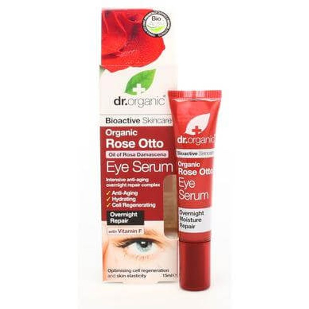 Dr.Organic Organic Rose Otto Eye Serum 15ml