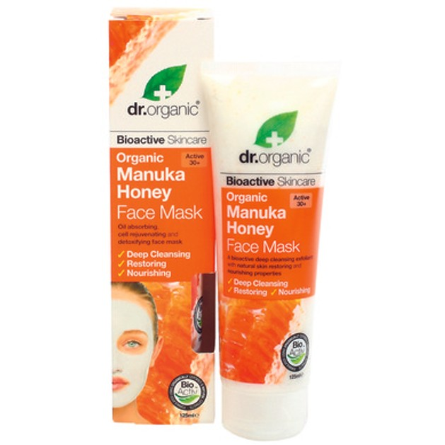 Dr.Organic Organic Manuka Honey Face Mask 125ml