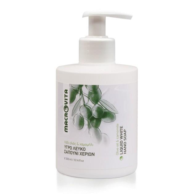 Macrovita Olive Oil & Camomile Liquid White Soap 300ml