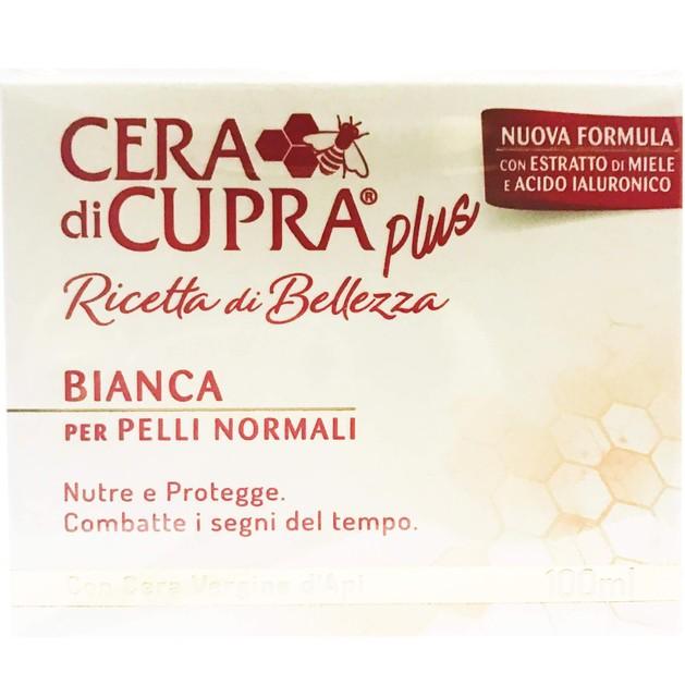 Cera di Cupra Plus Ricetta di Bellezza Bianca Αντιγηραντική, Θρεπτική & Προστατευτική Κρέμα για Κανονικό Δέρμα 100ml