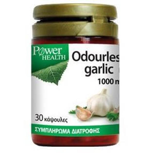 Power Health Odourless Garlic1000mg One A Day