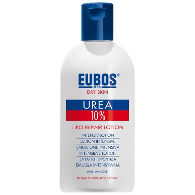 Eubos Urea 10% Lipo Repair Lotion Πλούσια Ενυδατική Λοσιόν Σώματος με Ουρία, Κατάλληλη για το Ξηρό Δέρμα 200ml