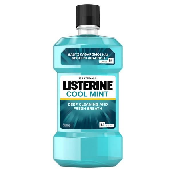Listerine Coolmint Ήπιο Αντισηπτικό Στοματικό Διάλυμα 500ml
