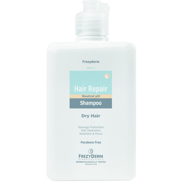 Hair Repair Shampoo 200ml - Frezyderm