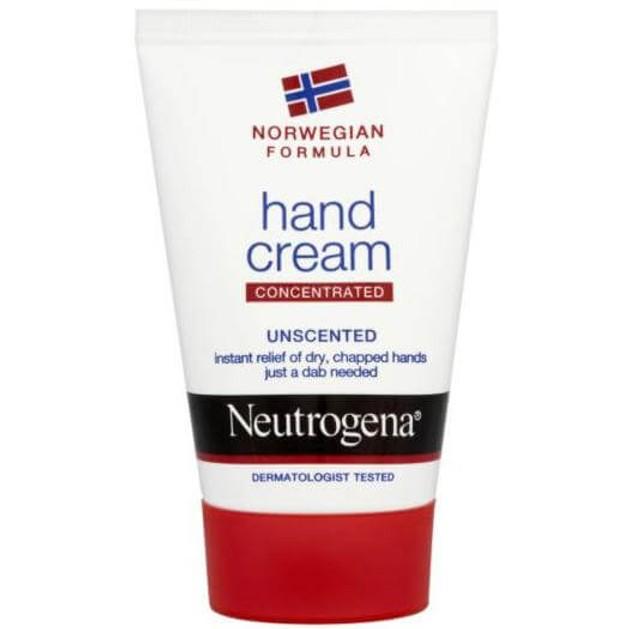 Neutrogena Hand Cream Unscented Ενυδατική Κρέμα Χεριών Χωρίς Άρωμα για Πολύ Ξηρά ή Σκασμένα Χέρια 75 ml
