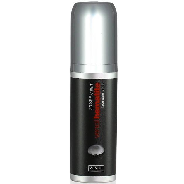 Vencil Hematite Cream Spf20 Ενυδατική Κρέμα Προσώπου για την Φυσιολογική Ενισχύση Παραγωγής Κολλαγόνου 30ml