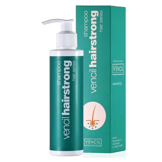 Vencil Hairstrong Shampoo για την Αντιμετώπιση της Τριχόπτωσης 170ml
