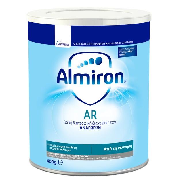 Nutricia Almiron AR Αντιαναγωγικό Βρεφικό Γάλα για Βρέφη Από 0-12 Μηνών 400gr