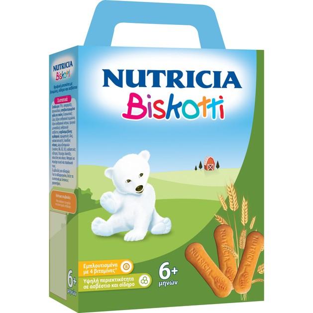 Nutricia Biscotti Βρεφικά Μπισκότα από τον 6ο Μήνα 180gr