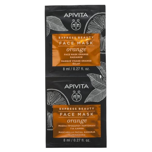 Express Beauty Πορτοκάλι 2x8ml - Apivita