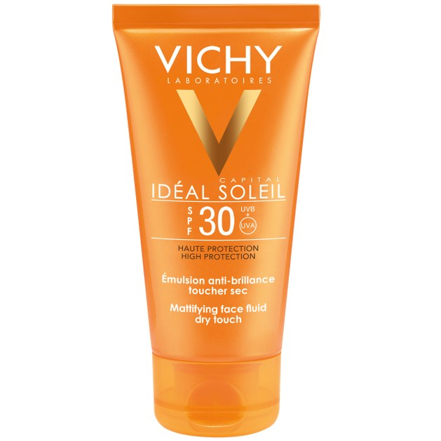 Ideal Soleil Spf30 Dry Touch Emulsion 50ml - Vichy