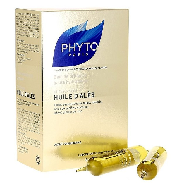 Phyto Huile D\'Ales Hair Oil 5amp x 10ml