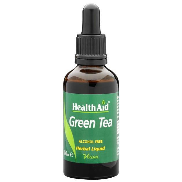 Health Aid Green Tea Liquid 50ml