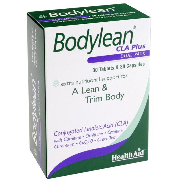 Health Aid Bodylean CLA Plus 30tabs & 30caps