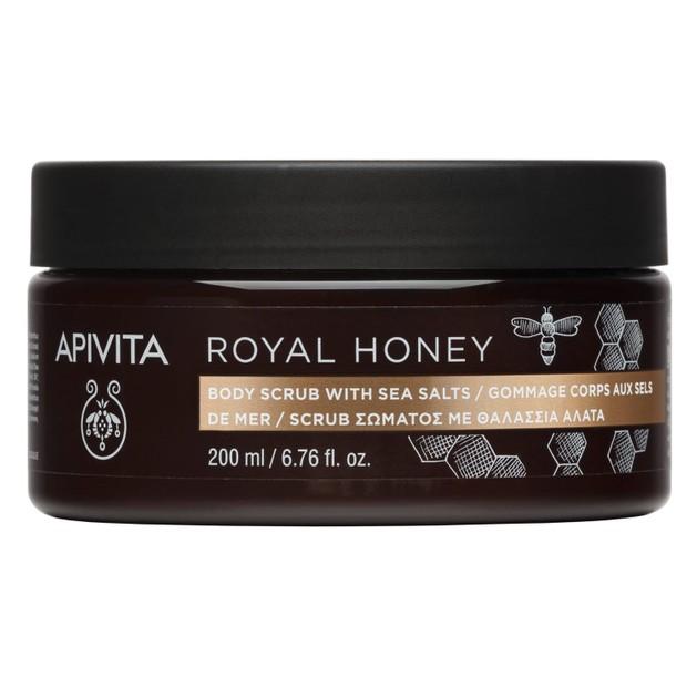 Apivita Royal Honey Body Scrub 200ml