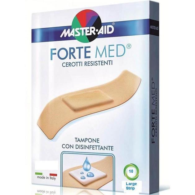 Master Aid Forte Med Φαρδιά  78Χ26mm  10Strip