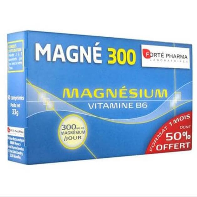 Forte Pharma Magne 300 Magnesium + B6, 90Caps