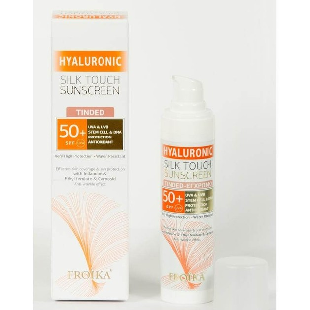Froika Hyaluronic Silk Touch Sunscreen Tinted Spf50+, 40ml