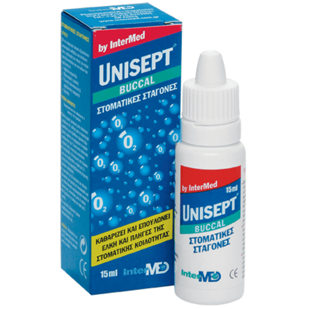 Intermed Unisept Buccal (Oromucosal) Drops 15ml