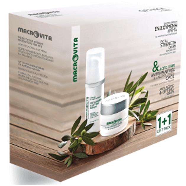 Macrovita Πακέτο Προσφοράς Extra Strength Cream 40ml & Face & Neck Dry Oil 30ml