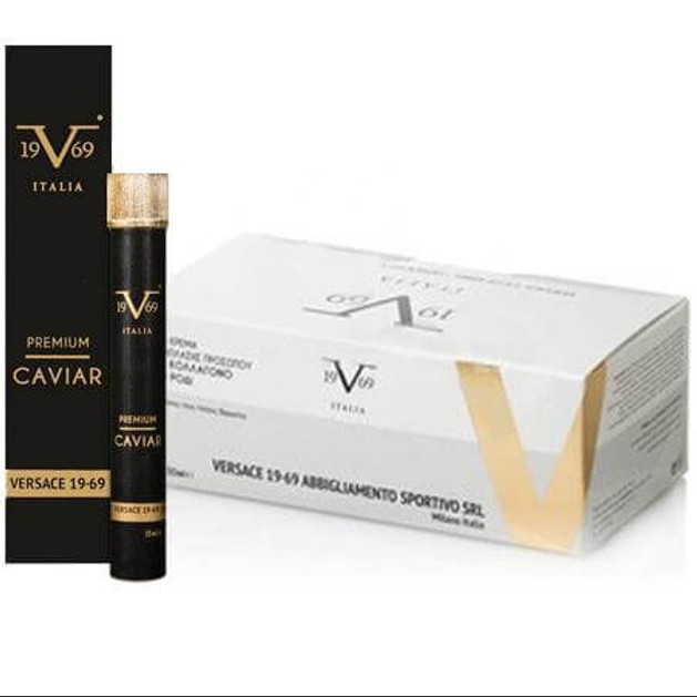 Versace 19.69 Promo Pack 24h Κρέμα Ανάπλασης Προσώπου με Κολλαγόνο & Ρόδι 2 x 50ml & Δώρο Premium Caviar Πόσιμο 15ml